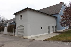 Rückseite desselben Gebäudes