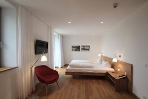 Die Hotelzimmer überzeugen durch gutes Design und hochwertige Oberflächen