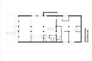 Grundriss Kellergeschoss, ohne Maßstab