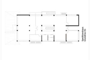 Grundriss Erdgeschoss, ohne Maßstab
