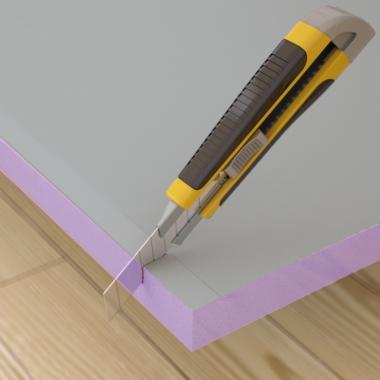 leichtbauplatte als untergrund f r tapeten farbe und putz. Black Bedroom Furniture Sets. Home Design Ideas