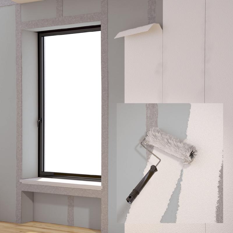 Leichtbauplatte Als Untergrund Fur Tapeten Farbe Und Putz Bauhandwerk