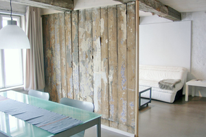 Rechts: Wohnung im Obergeschoss mit erhalten gebliebenen historischen Details Fotos (2): Helge Borgmann