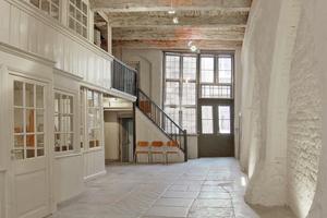 Im vorderen Teil der Diele befindet sich die so genannte Dornse, das Kontor des Hauses