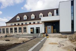 Die Kita Alte Post in Tuttlingen während des Umbaus