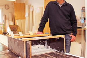 Hans Nonnenmacher hat einen sehr erfolgreichen Betrieb aufgebaut, der auf die Ausführung hochwertiger Stuck-, Putz- und Malerarbeiten spezialisiert ist Foto: Thomas Schwarzmann