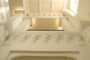 Beispiele für Stuckdekorationen in Innenräumen, die von der Restauro Putz Gmbh Arte Antica ausgeführt wurden Fotos: Restauro Putz