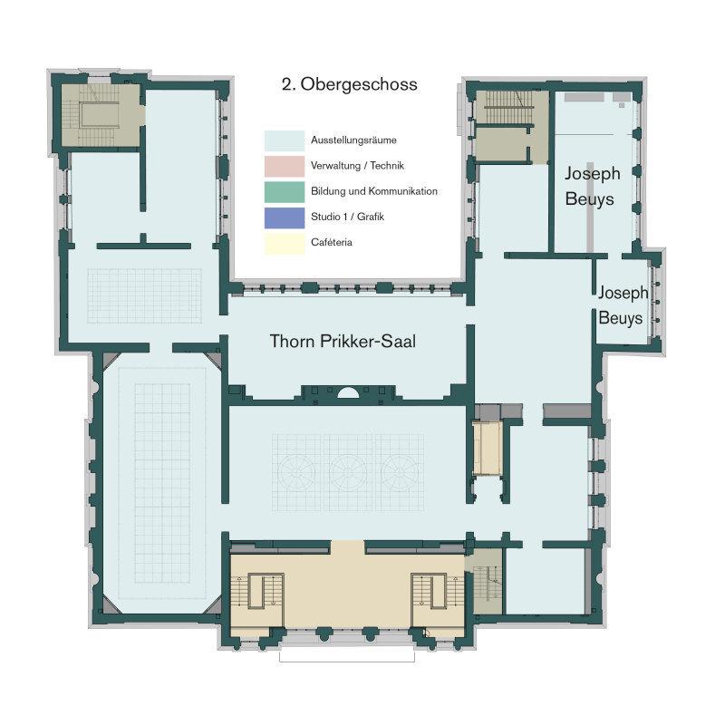 Museum Foyer Grundriss : Das kaiser wilhelm museum in krefeld wurde saniert und