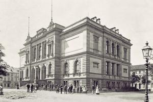 Das Kaiser Wilhelm Museum in Krefeld entstand 1897 im Stil der italienischen Renaissance nach Plänen des Architekten Hugo Koch