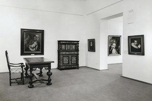 Die Sammlung mit barocker Kunst im Kaiser Wilhelm Museum nach dem Umbau 1969