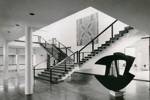 Das Foyer im Kaiser Wilhelm Museum nach dem Umbau 1969