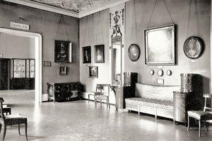 Historische Außenaufnahme der Ausstellung im Kaiser Wilhelm Museum von 1912