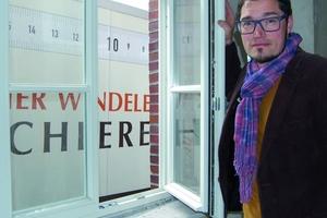 Malte von Monkiewitsch, Projektleiter der Werner Windeler Tischlerei GmbH