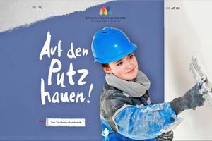 """Nachwuchswerbung für Stuckateure: Neue Inhalte zum Ausbildungsberuf Stuckateur/-in bietet das Portal <a href=""""http://www.deine-zukunft-ist-bunt.de"""" target=""""_blank"""">www.deine-zukunft-ist-bunt.de</a>"""