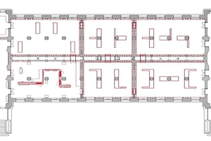 Grundriss Erdgeschoss, ohne Maßstab⇥Zeichnungen: Kuehn Malvezzi Architects