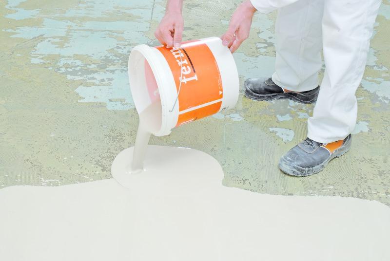 Unebenen Fußboden Fliesen ~ Niveauausgleich für fußböden bauhandwerk