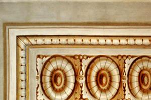 Die originale Freskomalerei aus dem Palazzo Pitti in Florenz diente als Vorlage