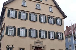 """Das historische Rathaus in Bad Cannstatt ist über 500 Jahre alt<span class=""""bildnachweis"""">Fotos: Christian </span><span class=""""bildnachweis"""">Kandzia </span>"""