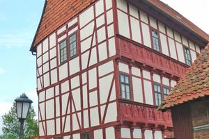 Ostfassade nach Abschluss der Sanierungsarbeiten