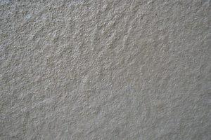Spritzbild: es ergibt sich eine sehr ebenmäßige Oberfläche