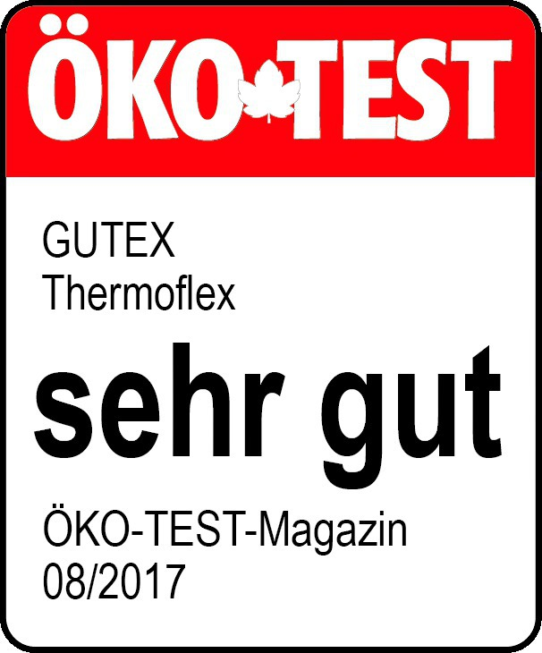 sehr gut f r holzfaserd mmmatte von gutex bei ko test 08 2017 bauhandwerk. Black Bedroom Furniture Sets. Home Design Ideas