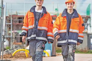 """92 Prozent der für die Studie befragten Azubis sind mit ihrer Ausbildung am Bau sehr zufrieden oder zufrieden<span class=""""bildnachweis"""">Foto: Soka-Bau</span>"""