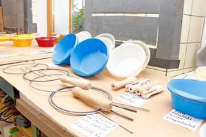 Viele Versuche waren nötig, um Edelstahlring und Holzgriff zu entwickeln