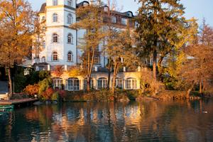 Das Hotel Schloss Seefels zählt zu den exklusivsten Hotels in Kärtnen