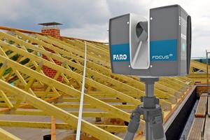 Beim 3D-Aufmaß frei geformter Gebäude oder Räume sind dagegen 3D-Laserscanner im Vorteil Foto: Faro