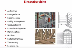 3D-Aufmaß an historischen Gebäuden