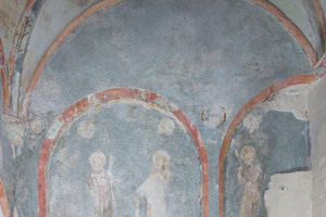 Wandmalerei in der westlichen Seitenkapelle