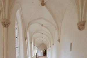 Der Kreuzgang des ehemaligen Klosters