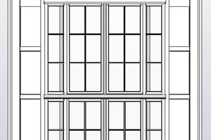 Portalfenster Außenansicht