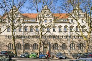 Das Oderberger Stadtbad entstand in den Jahren von 1899 bis 1902 im Stil der Neorenaissance nach Plänen des Architekten Ludwig Hoffmann