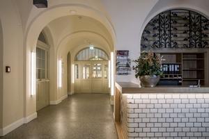 Rezeption des Hotels Oderberger
