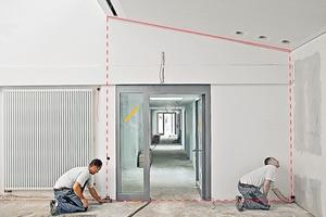 Mit den Lasermessern kann man auch die Höhen und die indirekten Längen messen Foto: Bosch