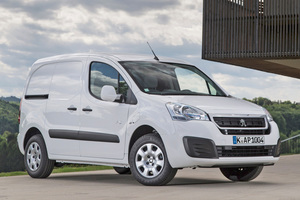"""Auch in der elektrischen Version beim Handwerker beliebt: der """"Peugeot Partner Eletric""""<span class=""""bildnachweis"""">Foto: Peugeot</span>"""