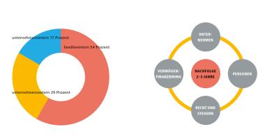 Formen der Nachfolge und wichtige Aspekte Grafik: ABG