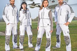 """Dank elastischer Einsätze und Belüftungsschlitze bietet """"Champ"""" einen angenehmen Klimakomfort<span class=""""bildnachweis"""">Foto: Excess Workwear</span>"""