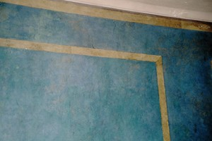 Wandflächen in Hornstucktechnik im Neuen Herkulessaal