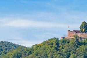 Burg Landeck ist ein beliebtes Ausflugsziel im Pfälzer Wald bei Klingenmünster. Die Kernburg entstand zu Beginn des 12. Jahrhunderts