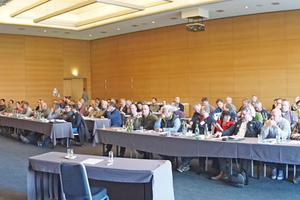 """Voller Saal bei einem der """"Infotage 2018"""" der Bernhard Remmers Akademie Anfang März in Münster<span class=""""bildnachweis"""">Foto: Thomas Wieckhorst</span>"""