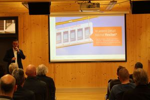 Frank Steffens, Geschäftsführer von Brüninghoff, spricht über Holz-Hybrid-Objekte und BIM<br />