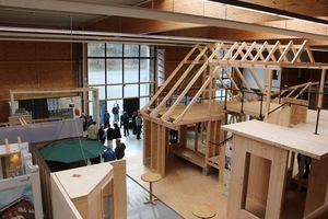 Ausstellung informiert über Holzbau im Zentrum Holz Olsberg<br />