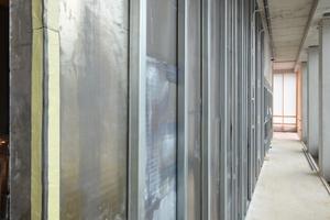 Korrekt ausgeführt schützt eine aus Strahlenschutzplatten in Trockenbauweise ausgeführte Wand vor sicher Radioaktivität<br />Fotos: Lead2Fi