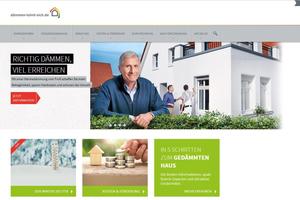 """Die Website """"dämmen-lohnt-sich.de"""" verzeichnet mehr als eine Million Besuche"""