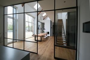 Blick aus der Küche ins Esszimmer<br />