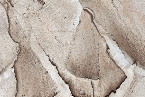 """Großes Foto: Die fertige Oberfläche Karakorum erinnert an eine Berglandschaft aus der Vogelperspektive<span class=""""bildnachweis"""">Fotos: Baumit</span>"""