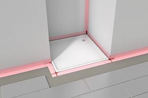 Das WannenDicht-System von Sopro besteht aus drei Komponenten, die in Kombination für alle Einbausituationen geeignet sind