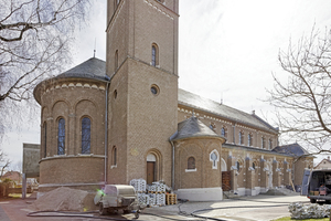 Die katholische Kirche St. Margaretha in Salach im Landkreis Göppingen